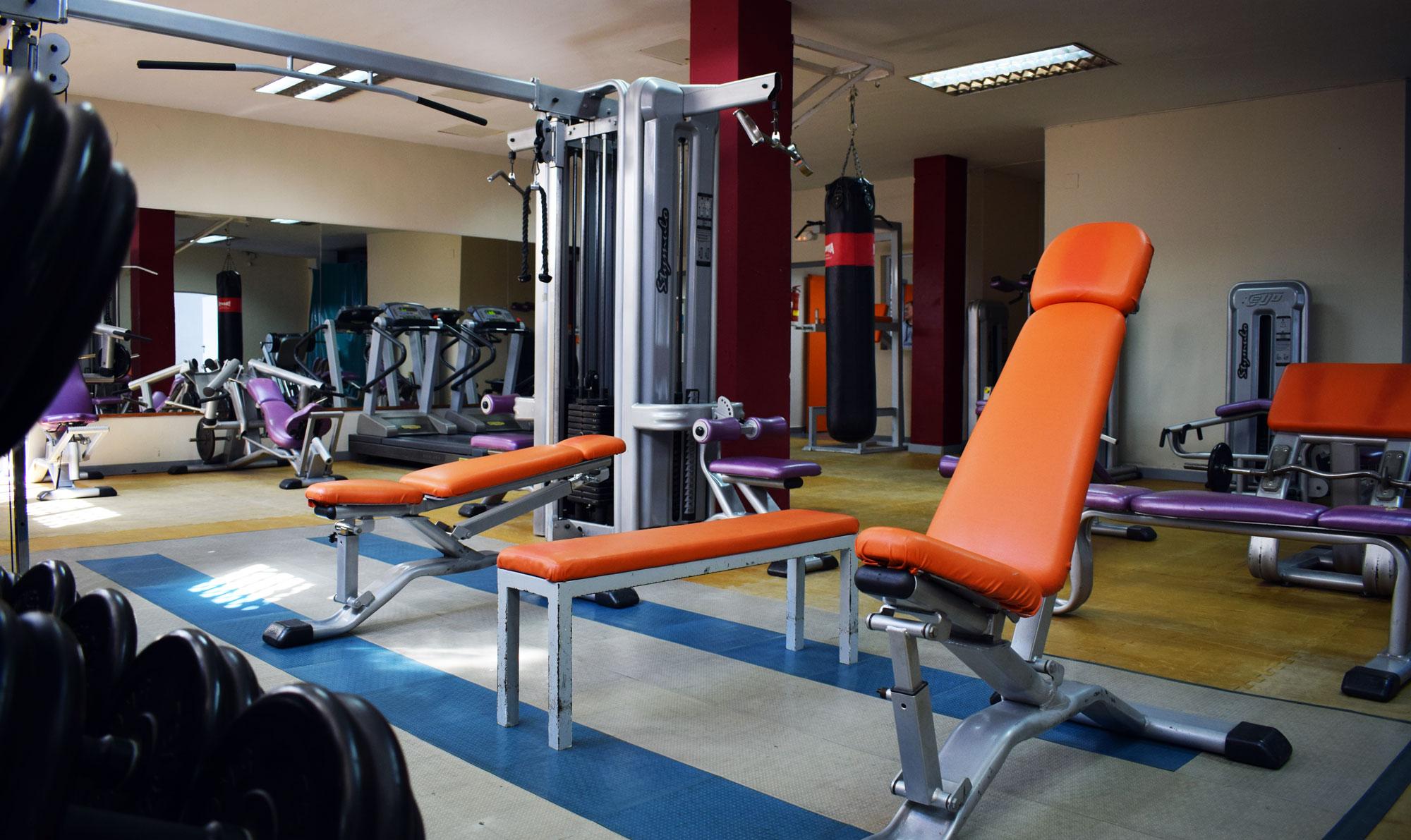 Sala de pesas gym seul