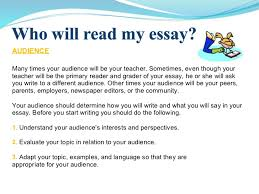 Essay about what i will bring to the community